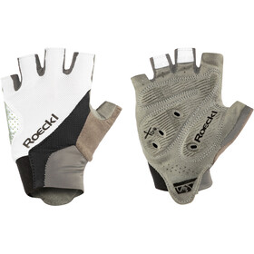 Roeckl Ivory Gants, white/black